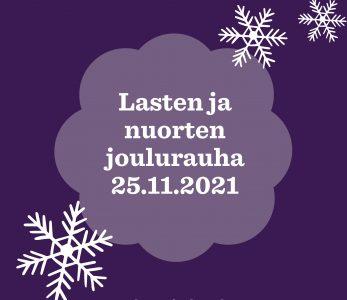 Lasten ja nuorten joulurauha.