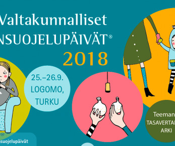 Suomen nuorisokeskukset Valtakunnallisilla lastensuojelupäivillä 25.–26.9.2018 Turussa