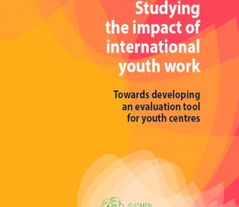Uusi julkaisu: Studying the Impact of International Youth Work