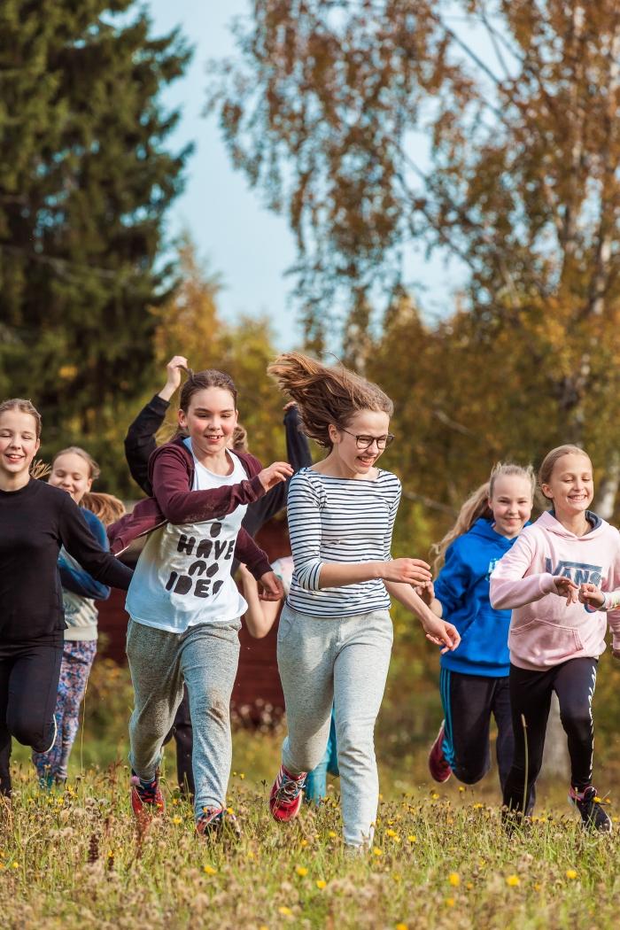 Nuorten ryhmä Nuorisokeskus Marttisessa