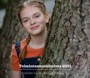 SNK ry:n toimintasuunnitelman 2021 kansikuva.